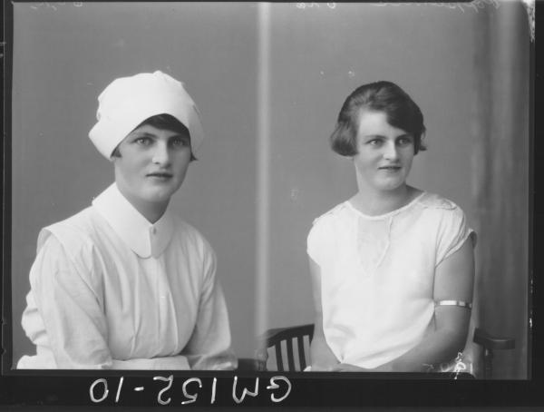 Portrait of Nurse 'Poppelwell'