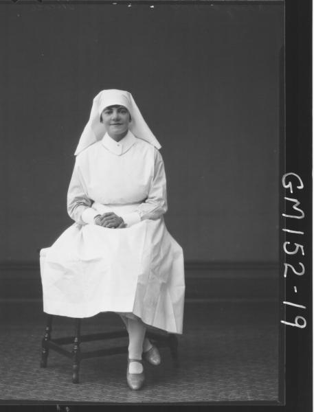 Portrait of Nurse 'Nicols'