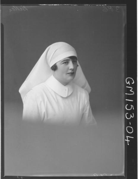 Portrait of Nurse 'Dillon'