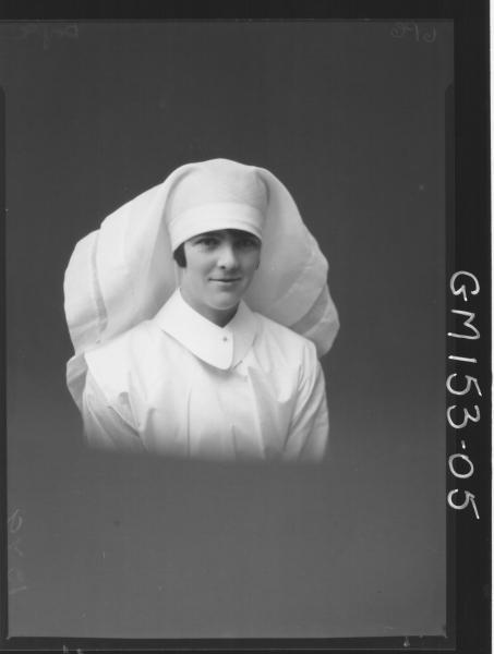 Portrait of Nurse 'Doyle'