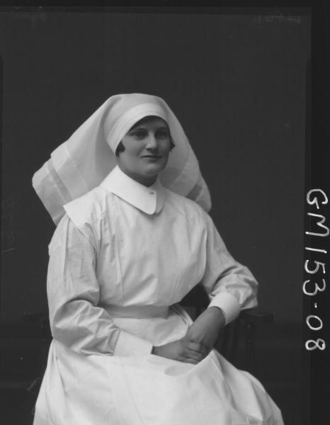 Portrait of Nurse 'Egan'