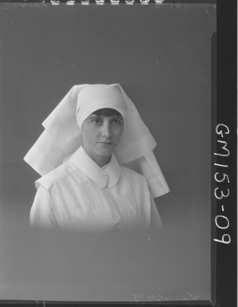 Portrait of Nurse 'Landers'