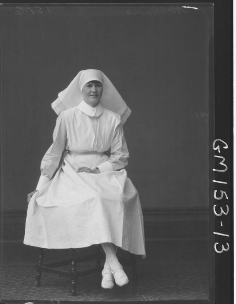 Portrait of Nurse 'Williams'