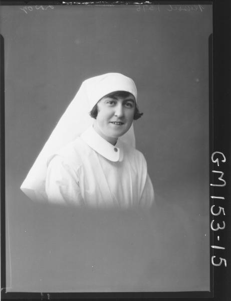 Portrait of Nurse 'Russell'