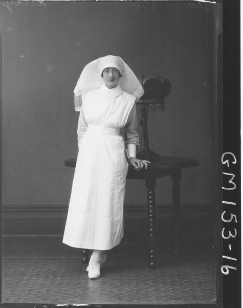 Portrait of Nurse 'Tracy'