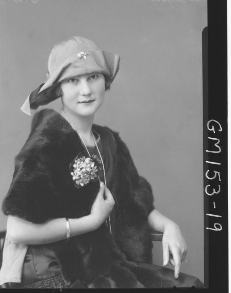 Portrait of woman 'Barger'