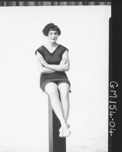 Portrait of women bathers 'Barger'