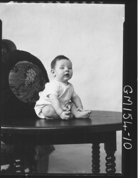 Portrait of baby 'Anderson'