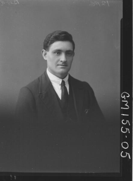 Portrait of man 'Bird'