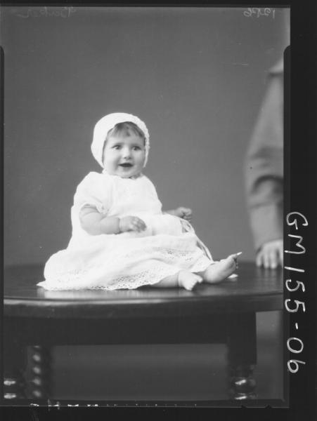 Portrait of baby 'Baker'