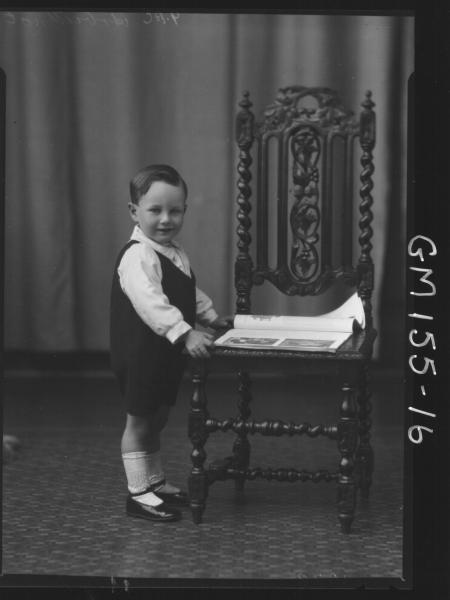 Portrait of child 'Arbuthnot'