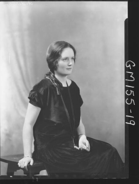 Portrait of woman 'Anderson'