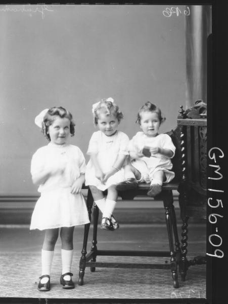 Portrait of three children 'Graham'