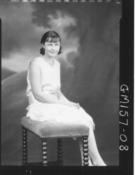 Portrait of woman 'Brimage'