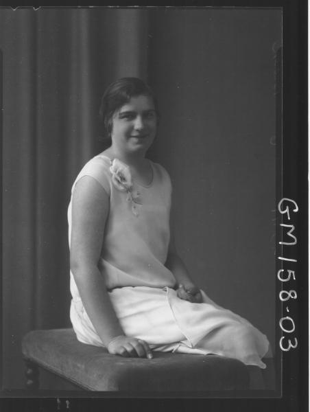 Portrait of woman 'Brown'