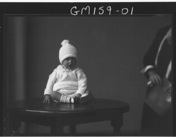 Portrait of baby 'Venn'
