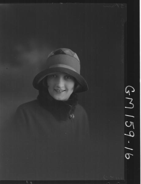 Portrait of woman 'Thomas'