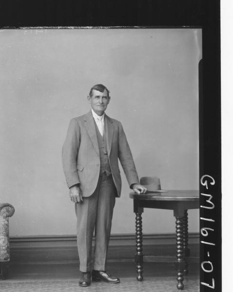 Portrait of man 'Cullen'