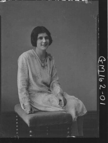 Portrait of woman 'Clarke'