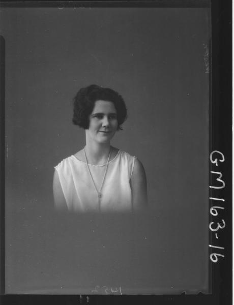Portrait of woman 'Weston'