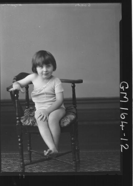 Portrait of child 'Coydon'