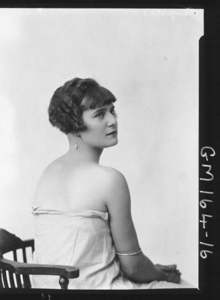 Portrait of woman 'Augustine'