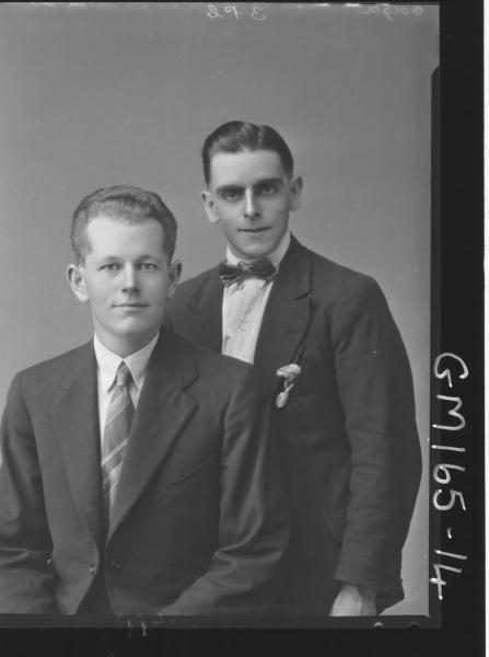 Portrait of two men 'Colga'