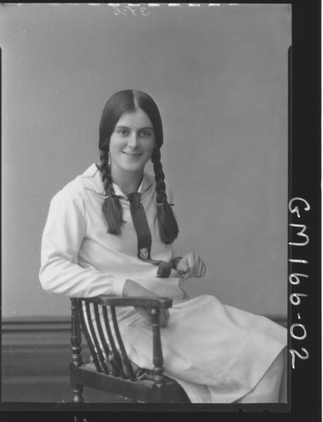 Portrait of girl 'Clarke'