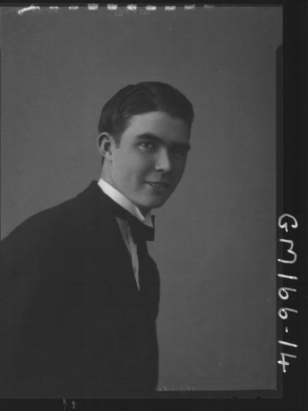 Portrait of man 'Watson'