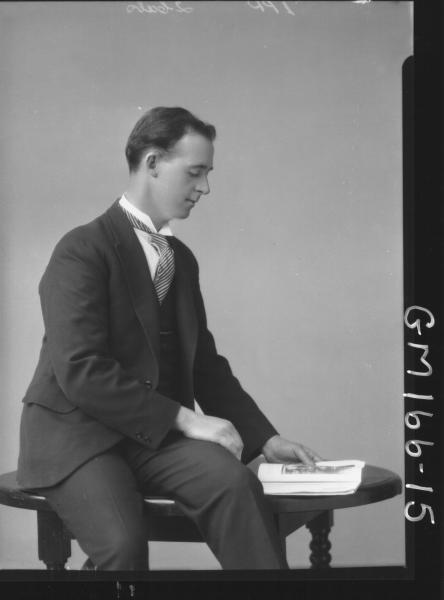 Portrait of man 'Ardagh'