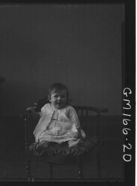 Portrait of child 'Wood'