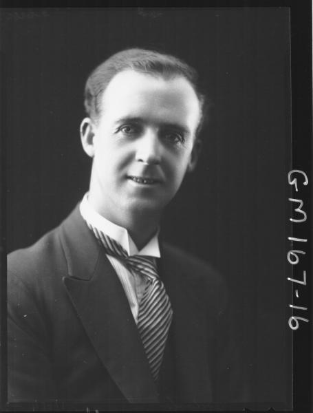 Portrait of man, 'Ardach'