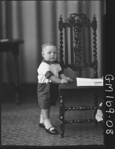 Portrait of child 'O'Connor'