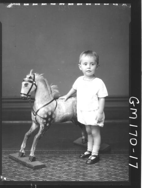 Portrait of child 'Cecil'