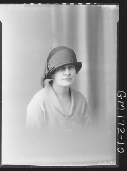 Portrait of woman 'Berry'