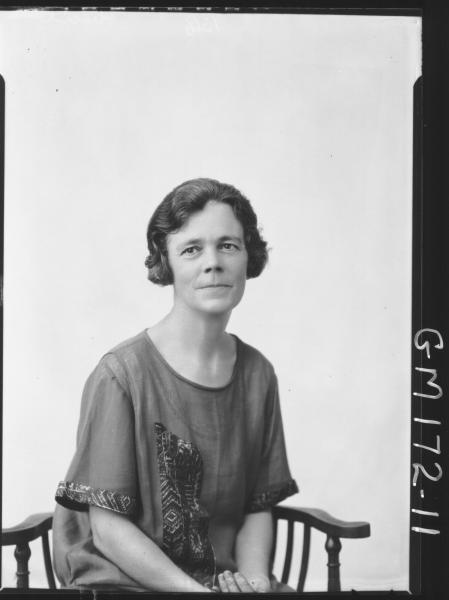 Portrait of woman 'Cecil'