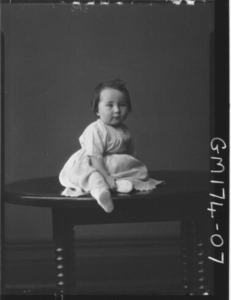 Portrait of baby 'Bailey'