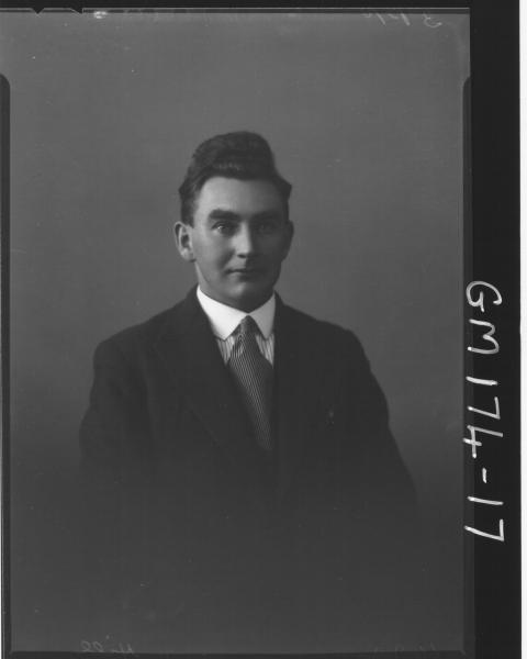 Portrait of man 'Hill'