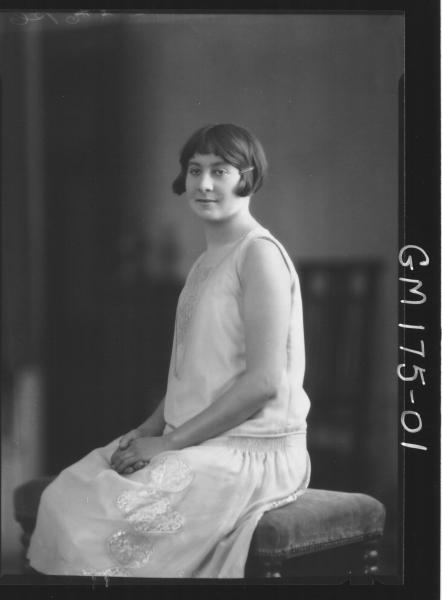 Portrait of woman 'Hughes'
