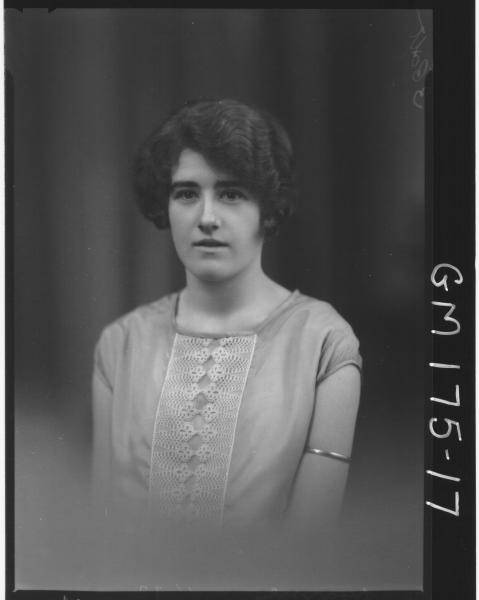 Portrait of woman 'Hearne'