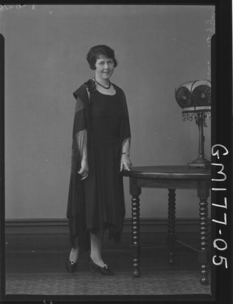 Portrait of woman 'Churack'