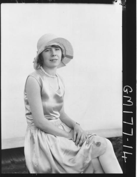 Portrait of woman 'Cole'