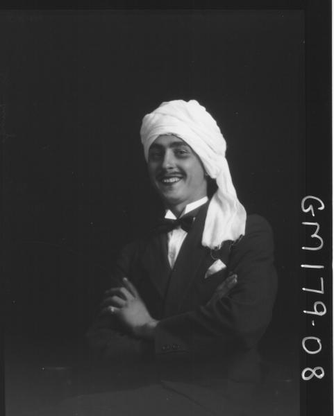 Portrait of man 'Campie'