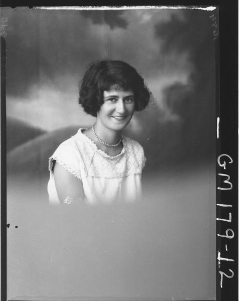 Portrait of woman 'Baker'