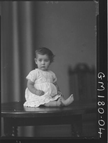 Portrait of Baby 'Carter'