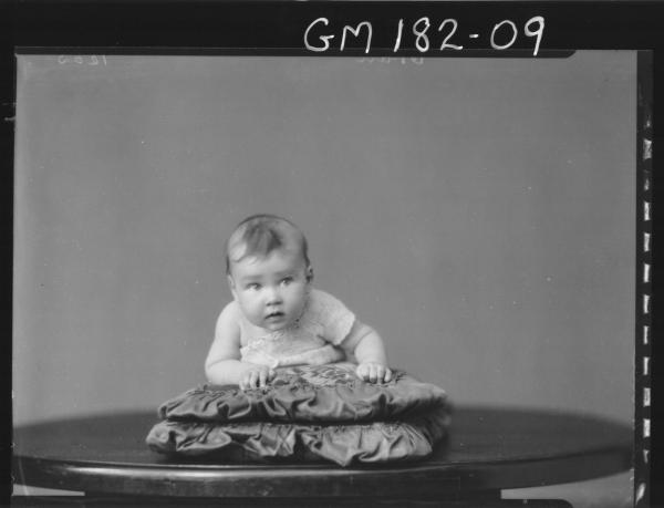 Portrait of baby 'McMullen'