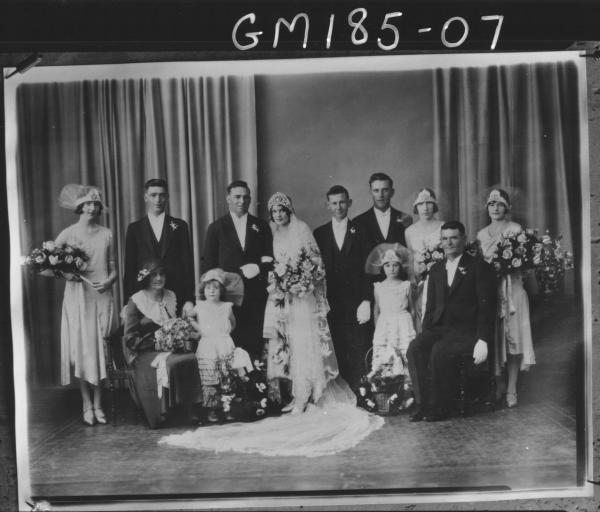 Copy of wedding group 'Dix'