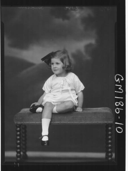 Portrait of child 'Hudson'
