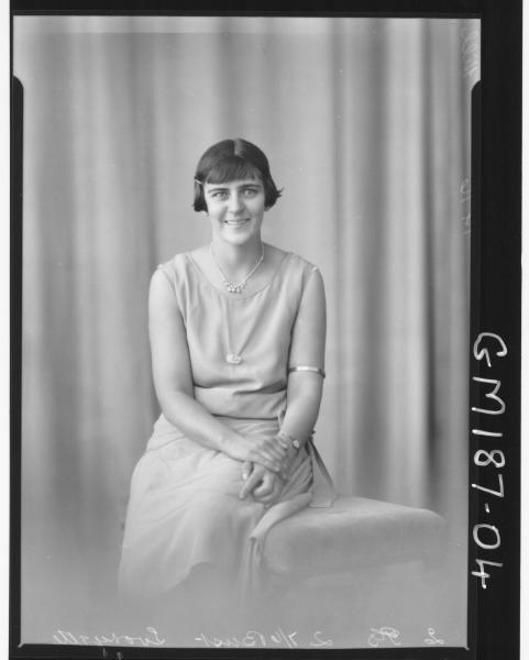 Portrait of woman 'Hill'