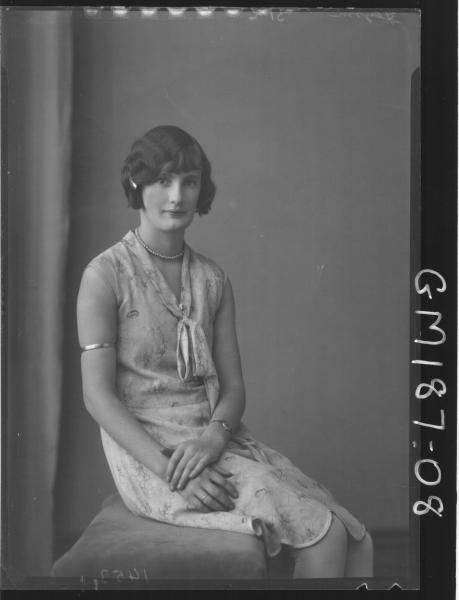 Portrait of woman 'Flynn'